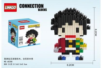 {M'SIA STOCK} Demon Slayer Diamond Nano Block Mini Blocks Lego KidsToys Compactible 联高串联小颗粒钻石积木卡通鬼灭之刃微型拼装