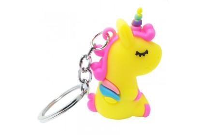 Colour Unicorn Key Chain/Key Ring/Pendant 3-8cm 彩色独角马迷你玩具公仔钥匙圈/钥匙扣3-8厘米